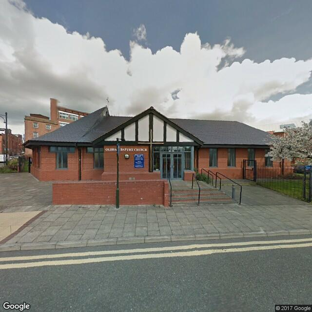 oldham baptist church from streetview